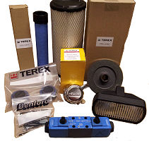 Terex Benford Spare Parts